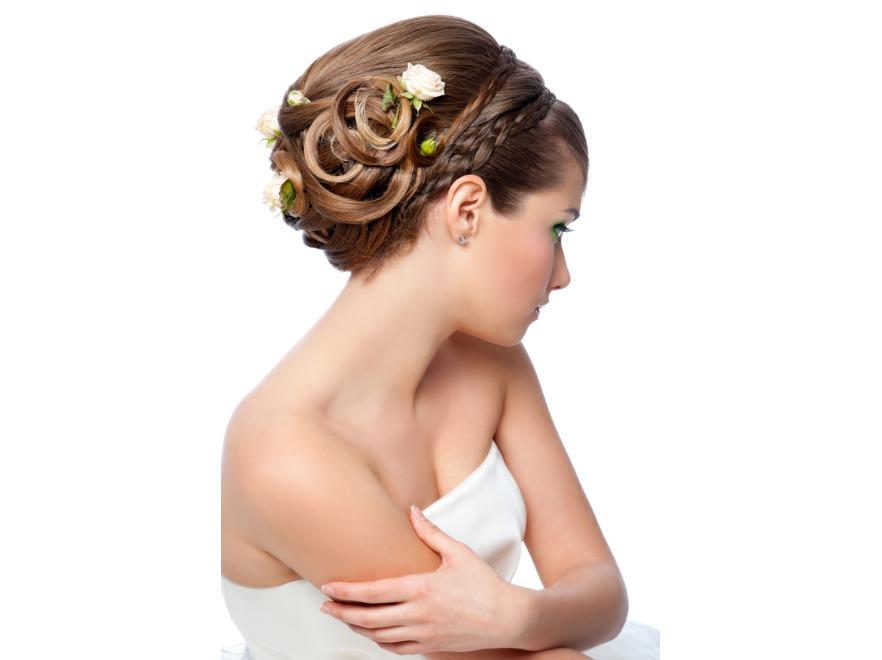 Uroda Z Pierwszej Ręki Modne I Piękne Fryzury ślubne