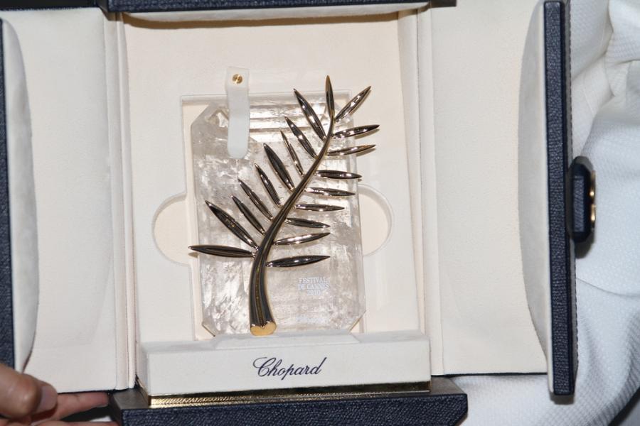 Złota Palma - główna nagroda Festiwalu Filmowego w Cannes