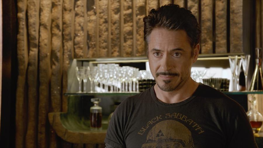 Robert Downey Jr. jako Iron Man w \