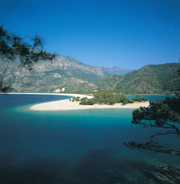 Plaża Olu Deniz, Fethiye nad Morzem Martwym
