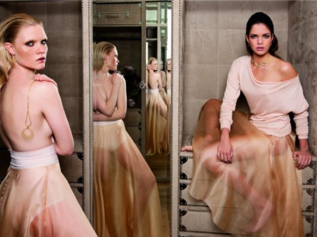 Top Model w kampanii promocyjnej biżuterii Apart wiosna/lato 2012