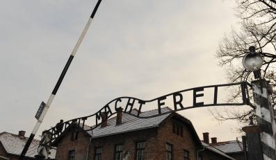 Brama obozu w Auschwitz