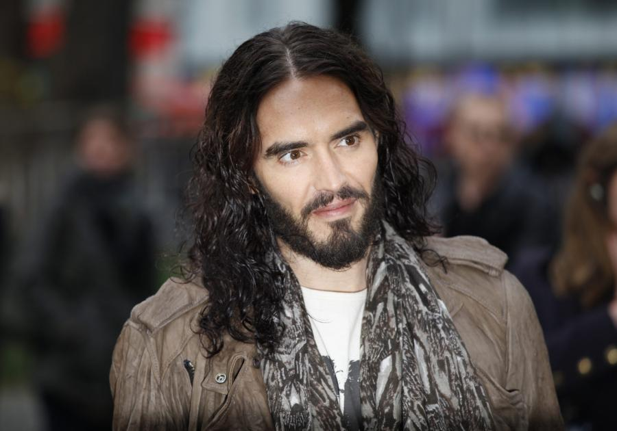 Russell Brand na premierze \