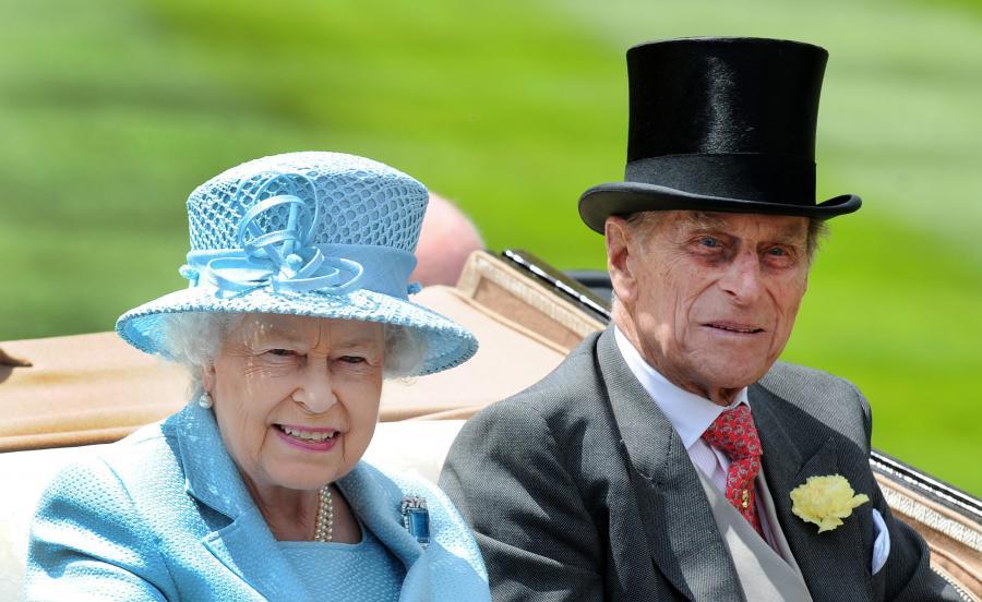 Królowa Elżbieta II i książę Filip w Ascot