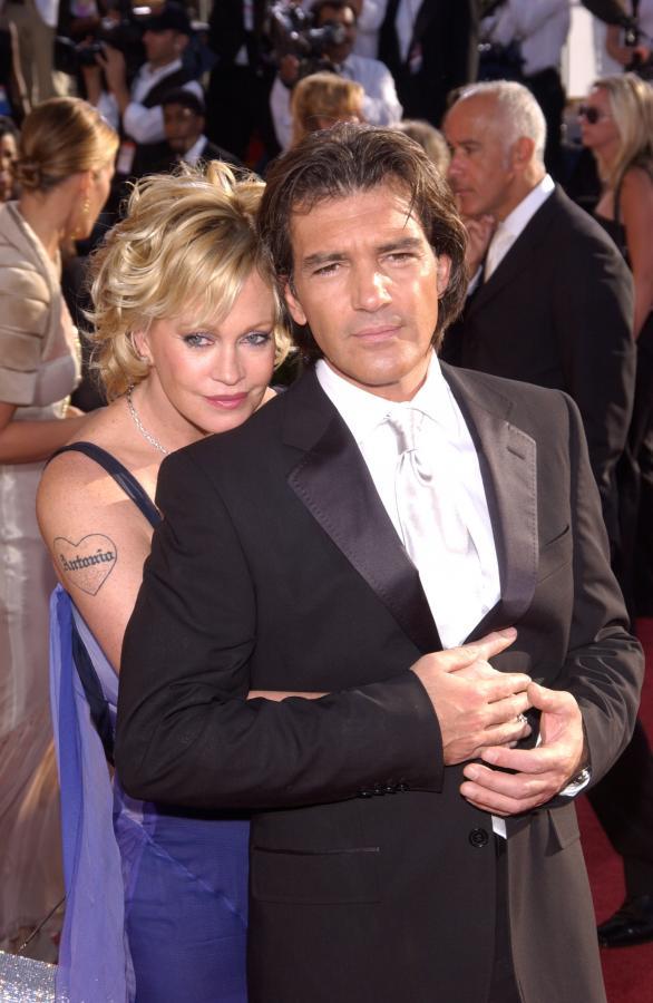 Długodystansowcy w Hollywood - Antonio Banderas z żoną Melanie Griffith
