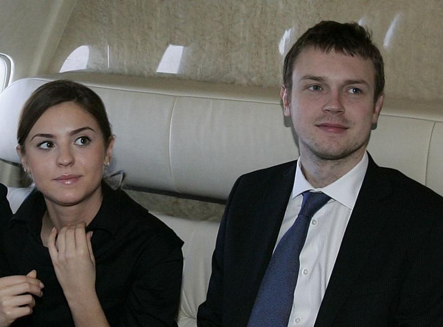Michał Tusk z siostrą