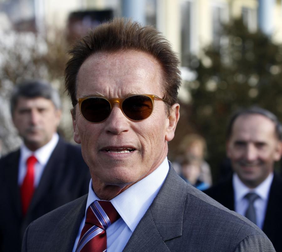 Arnold Schwarzenegger rozpoczyna wykłady