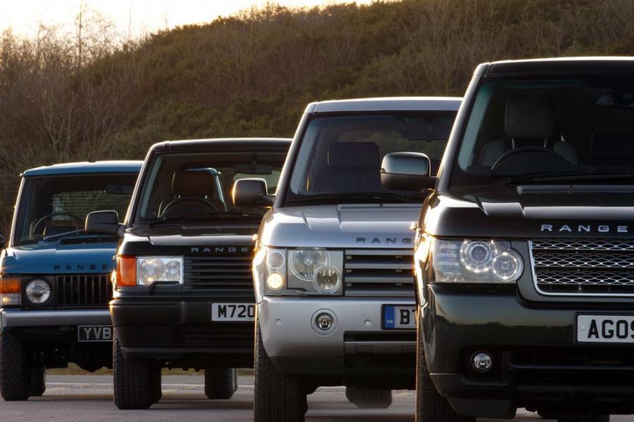 Marka Range Rover od ponad 40 lat tworzy luksusowe samochody terenowe. Jak dotąd pojawiły się trzy generacje Range Rovera: oryginalna (Classic) w roku 1970, druga generacja (P38a) w roku 1994 i trzecia generacja (L322) w roku 2001