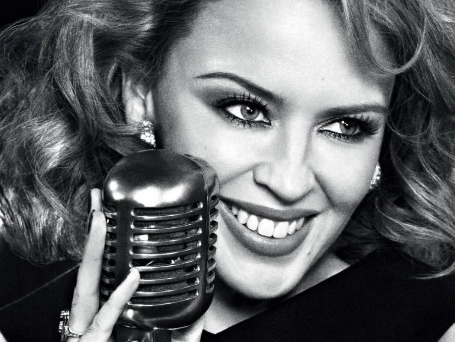 Kylie Minogue śpiewa \