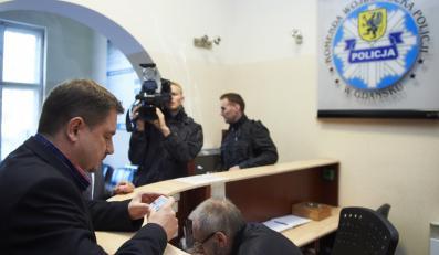 Piotr Duda zeznawał na policji