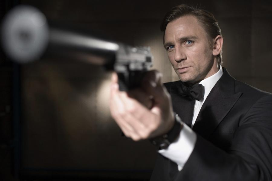 Daniel Craig jako Bond, James Bond