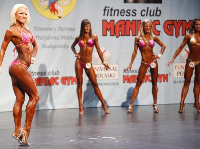 Ludmila Diachuk; Tanja Canc; Denisa Lipovska; Karina Antovska (od lewej)