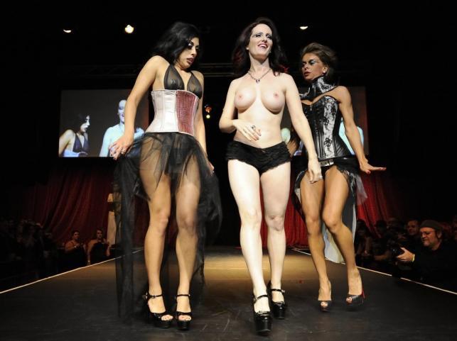 Fetish fashion show 2012