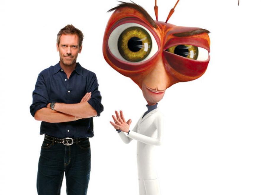 Hugh Laurie jako Dr. Karaluch w animacji \