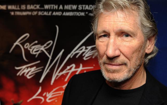 Roger Waters na konferencji prasowej w Londynie