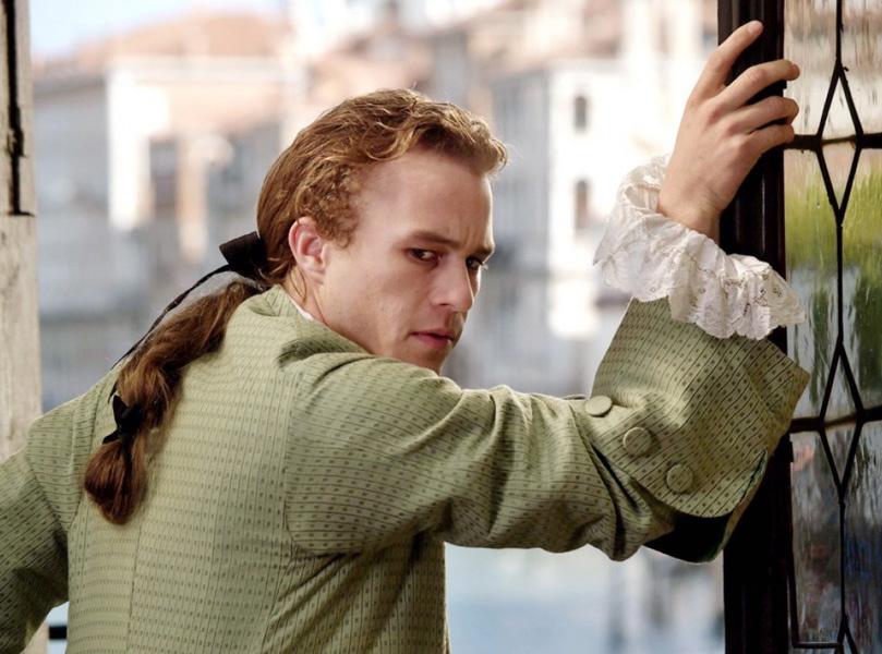 "Heath Ledger jako ""Casanova"""