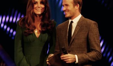 Księżna Catherine i David Beckham