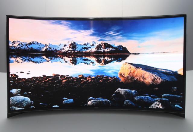 Zakrzywiony OLED Samsunga