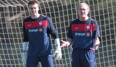 Grzegorz Sandomierski i Franciszek Smuda