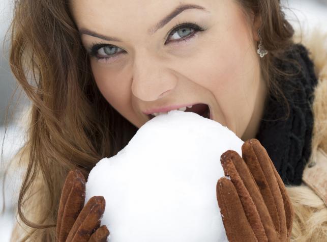 Można jeść śnieg?