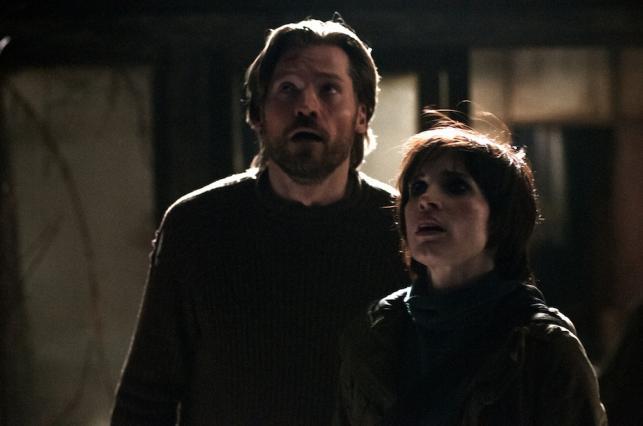 """Jessica Chastain i Nikolaj Coster-Waldau w filmie """"Mama"""""""