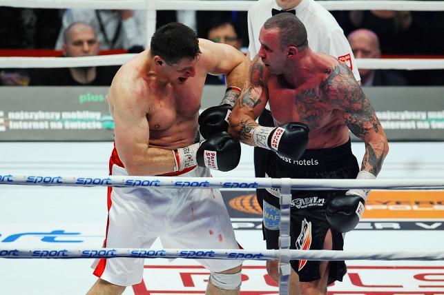 Andrzej Gołota na ringu