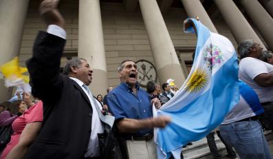 Argentyna świętuje po wyborze nowego papieża