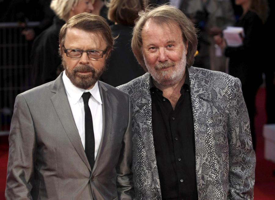 Muzycy grupy ABBA: Benny Andersson i Bjorn Ulvaeus