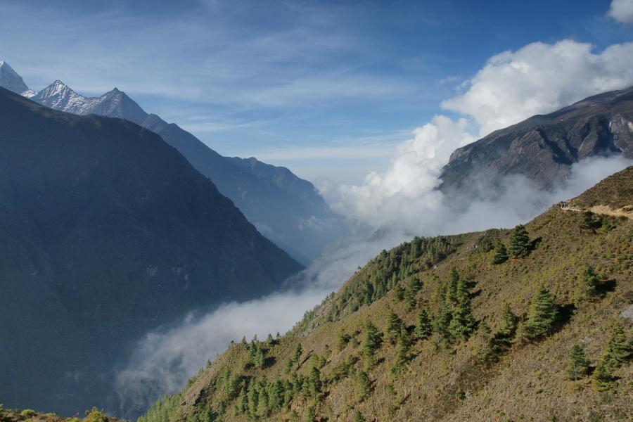 Lukla Himalaje Nepal