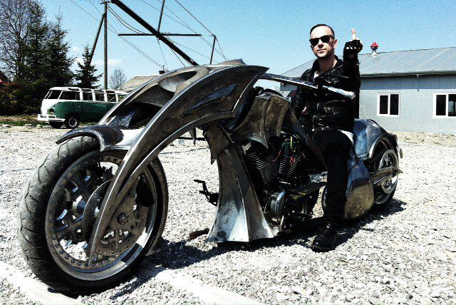 Nergal i Behemoth Bike
