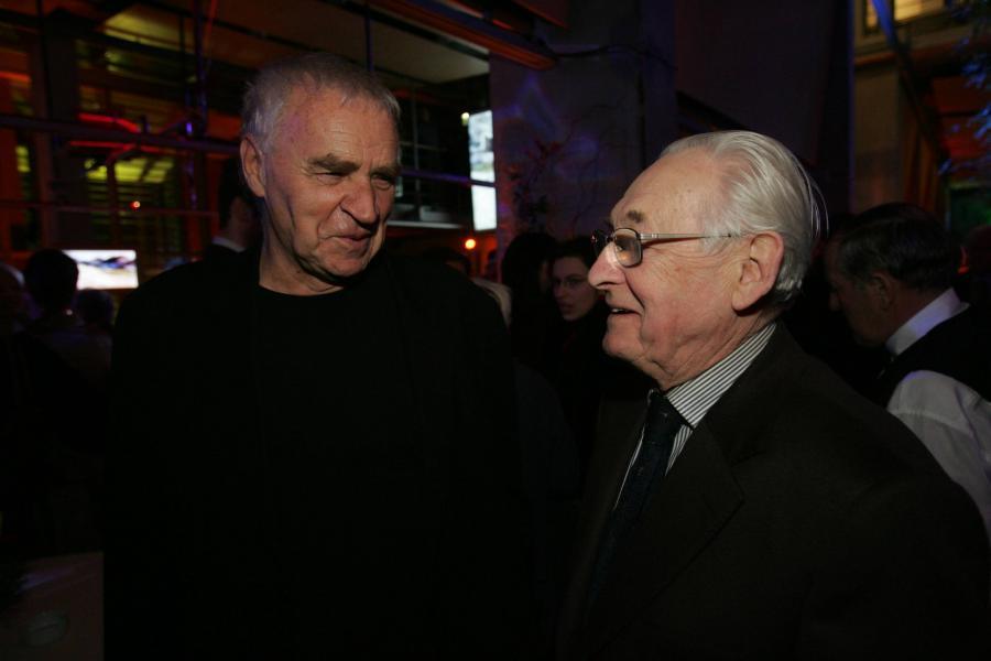 Janusz Głowacki i Andrzej Wajda