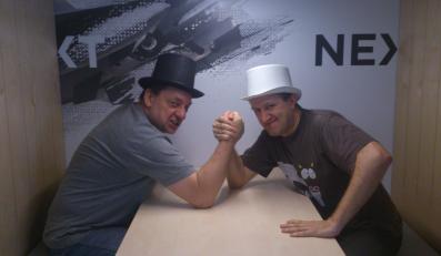 Jacek Karolak i Cezary Glijer