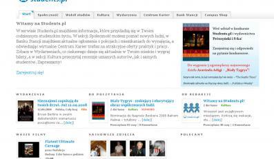 Ruszył serwis społecznościowy Students.pl