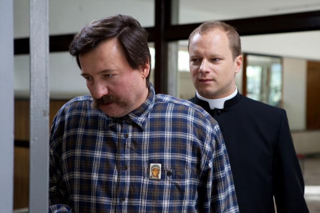 """Robert Więckiewicz i Maciej Stuhr w filmie """"Wałęsa"""""""