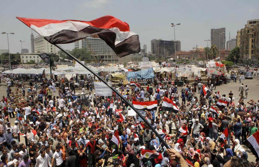 Zamieszki na placu Tahrir