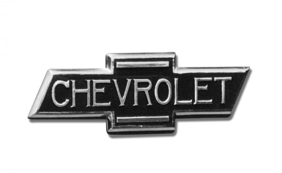 Logo w takiej wersji pojawiło się na wszystkich półciężarówkach Chevroleta z 1936 roku