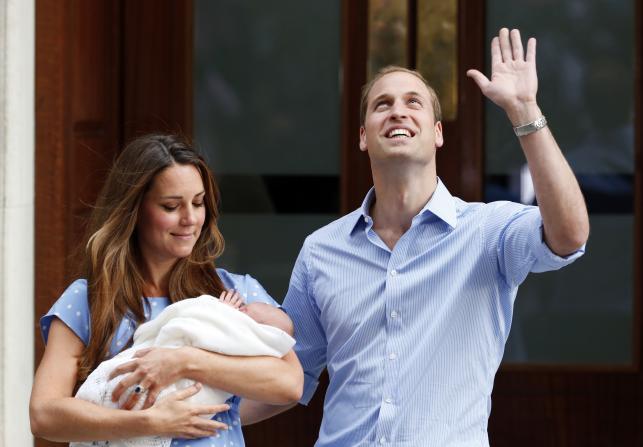 PIERWSZE ZDJĘCIA dziecka księżnej Kate i księcia Williama