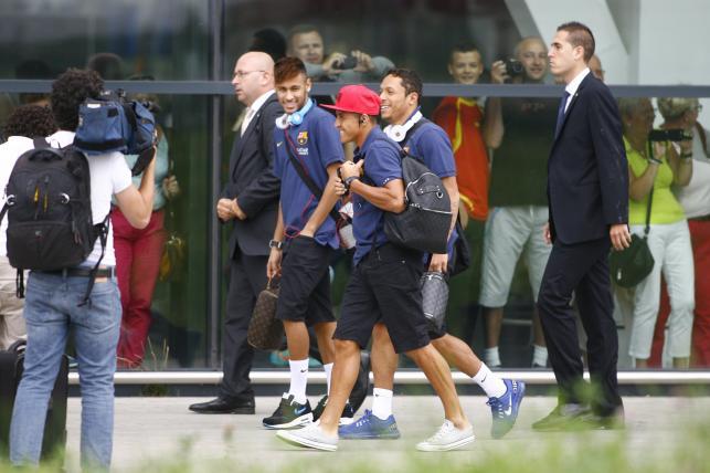 Messi, Neymar i spółka są już w Gdańsku