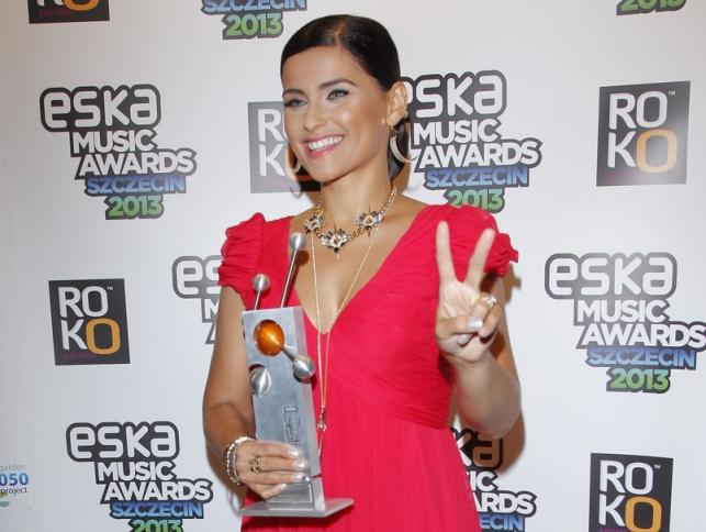 Nelly Furtado na gali Eska Music Awards 2013