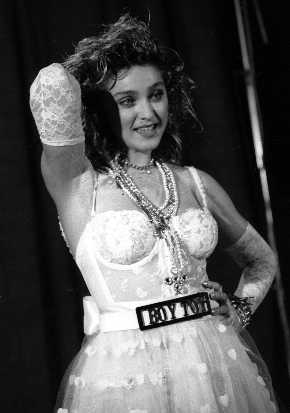 "Madonna z czasów ""Like a Virgin"" (1984 rok)"