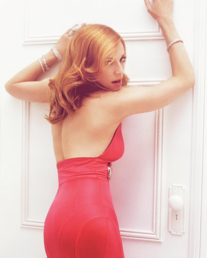 "Madonna na zdjęciach z sesji do ""Confessions on a Dance Floor"" –2005 rok"