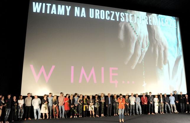 """Uroczysta premiera filmu """"W imię..."""" Małgorzaty Szumowskiej"""