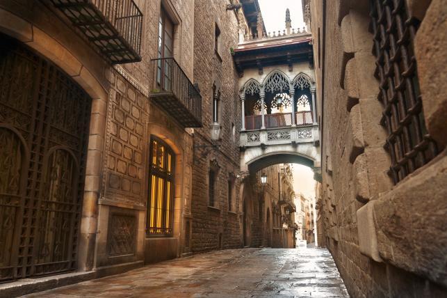 Barcelona - dzielnica Barri Gotic