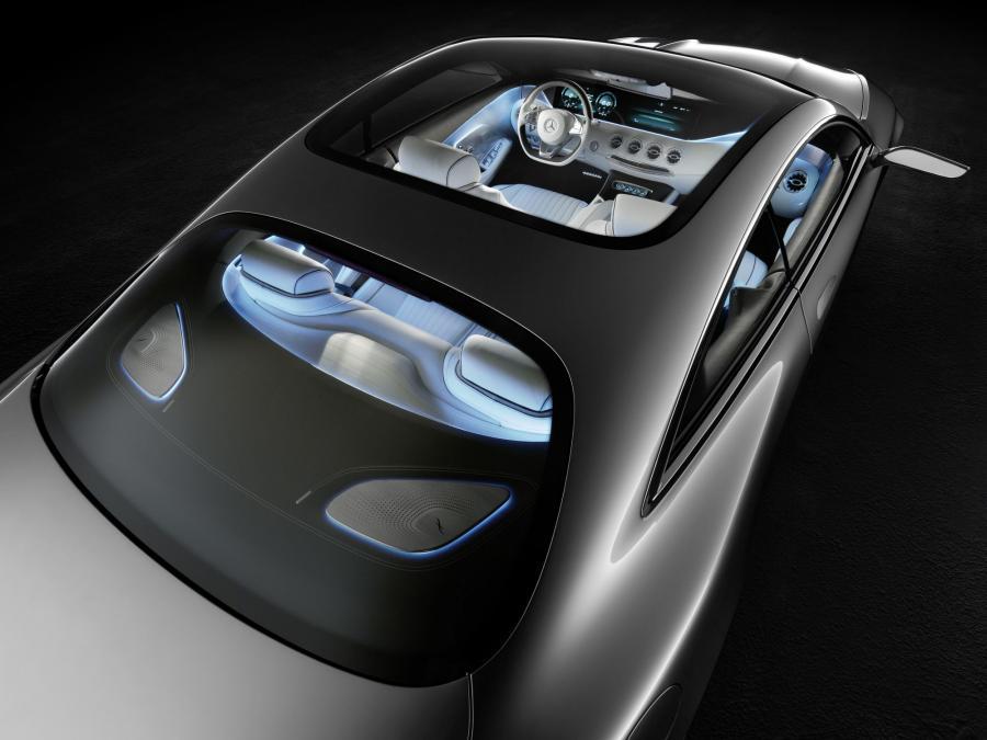 Prototypowy mercedes klasy S coupe