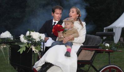 Zobacz nagranie ze ślubu Piotra Kraśki