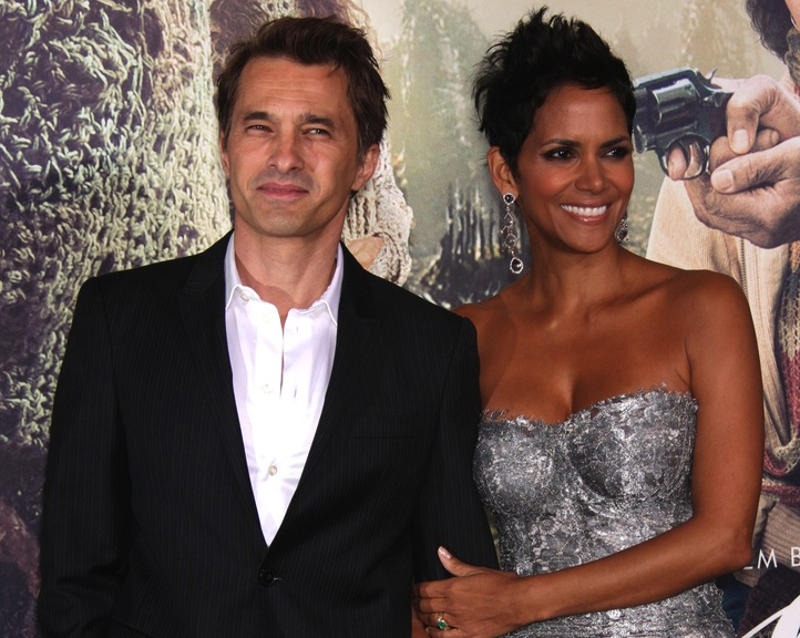 Szczęliwi rodzice –Halle Berry i Olivier Martinez