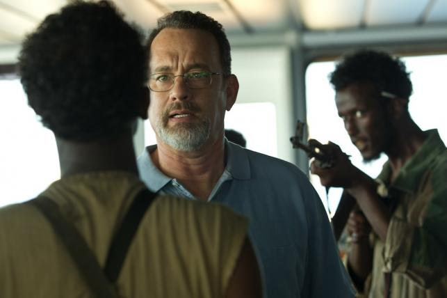 "Tom Hanks w filmie ""Kapitan Phillips"""