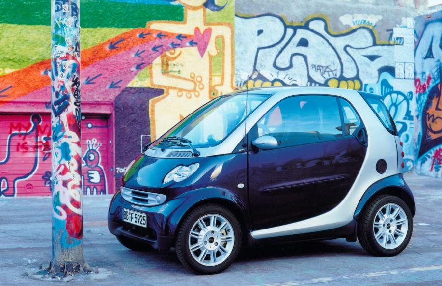 Smart fortwo - 10. miejsce w rankingu najmniej awaryjnych używanych samochodów według Warranty Direct