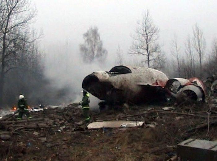 Smoleńsk, miejsce katastrofy