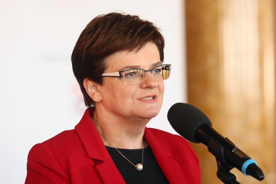 Minister Krystyna Szumilas